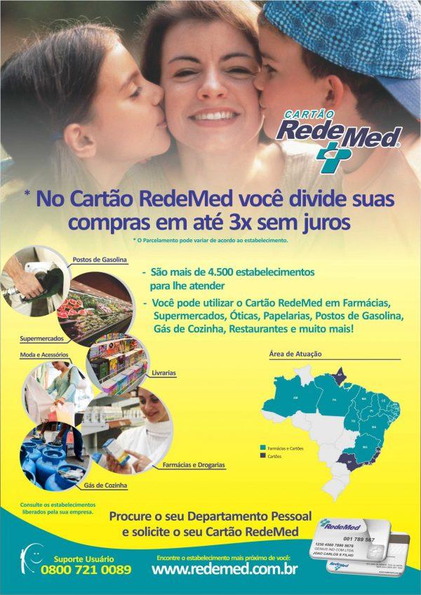 Cartaz_Divulgação Cartão RedeMed